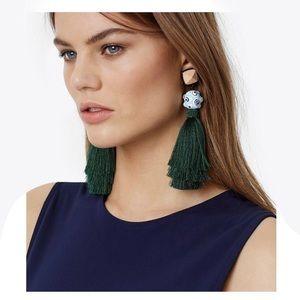 Tory Burch Silk Tassel Clip-on Earrings